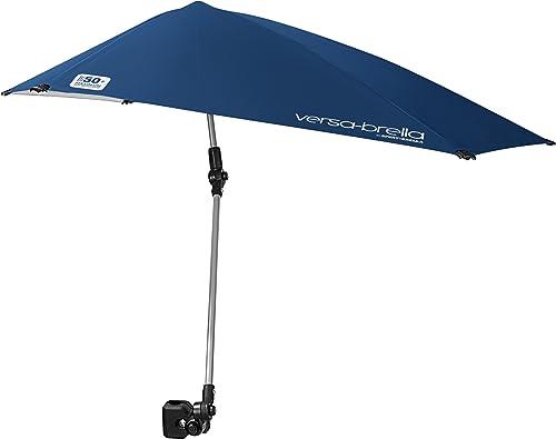 Sport-Brella Versa-Brella All Position Umbrella with Universal Clamp, Midnight Blue