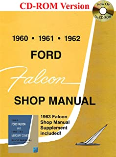 1960-1963 Ford Falcon Shop Manual
