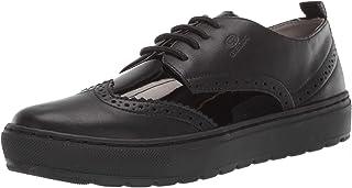 GEOX Womens D922QA.05402.C9999 Breeda 19 Wingtip Sneaker Shoe Black Size: