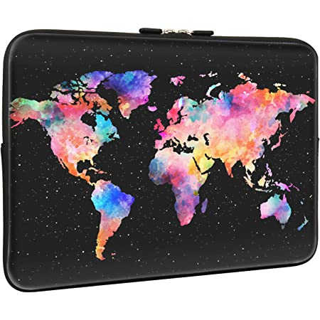 Educational World Map Africa Camel Cushion Protective Waterproof Laptop Case Bag Sleeve for Laptop AM019299 17 inch//17.3 inch C COABALLA Kids