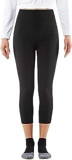 FALKE Damen Tights Cellulite Control 7/8, Laufhose mit Kompression, Shape Legging aus Funktionsfaser, 1 Stück, Leggings Schwarz, versch. Größen