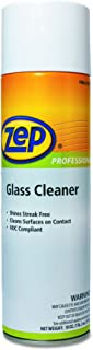 Zep Professional 1042188 Glass Cleaner, 18 oz Can (Case of 12)