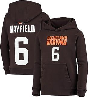 Hoodie Long Sleeve T-Shirt Baker-6 Feeling Dangerous Mayfield-Quarterback Cleveland Football Jersey QB Customized Handmade Unisex T-Shirt Sweater