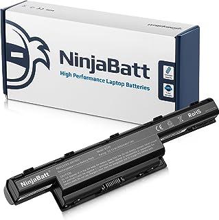 Ninjabatt 9 Celdas Batería para Acer AS10D31 AS10D51 AS10D81 AS10D75 AS10D41 AS10D73 AS10D61 AS10D71 AS10D3E Aspire 4752 5250 5733 5742 AS10G3E 3ICR19/65-2 5750 AS10D56 31CR19/66-2 31CR19/65-2