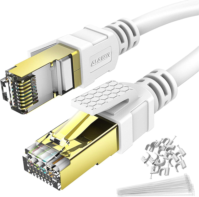 Ethernet Cable Nippon regular agency Nashville-Davidson Mall 3M Cat 8 Patch 2 Alaser Internet RJ45