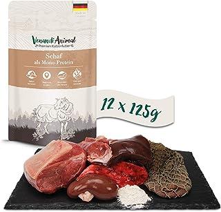 Venandi Animal - Pienso Premium para Gatos - Oveja como monoproteína - Completamente Libre de Cereales - Pouches 12 x 125 g