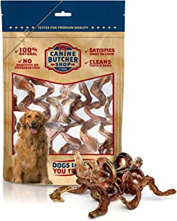 Canine Butcher Shop All-Natural, Single Ingredient Bully Sticks Dog Treat Chews - Sourced and Made in USA