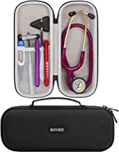 BOVKE Stethoscope Case for 3M Littmann Classic III Monitoring, Lightweight II S.E, Cardiology IV Diagnostic Stethoscopes -...