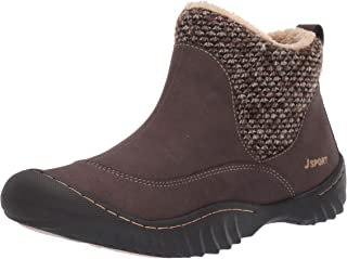 JSport by Jambu Women's Marcy Ankle Boot, Brown, 6 M US