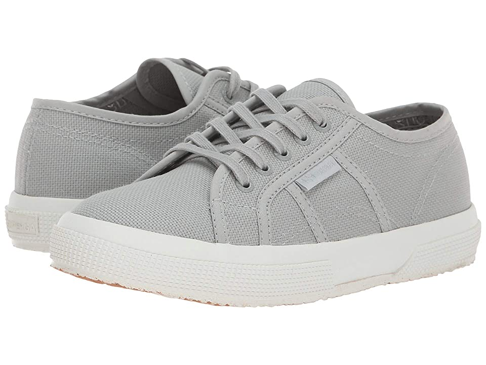 Superga Kids 2750 JCOT Classic (Toddler/Little Kid) (Light Grey Full) Kid