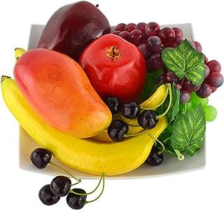 Generic 4pcs Fruits Artificiels Jouet Enfant Jeux dImitation D/écoration de la Maison Magasin Photographie P/êche
