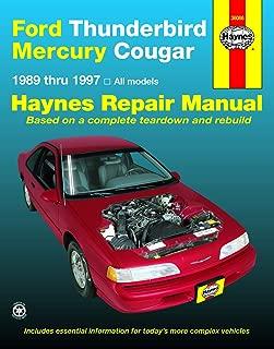 Ford Thunderbird & Mercury Cougar (1989-1997) Haynes Repair Manual (Haynes Repair Manuals)