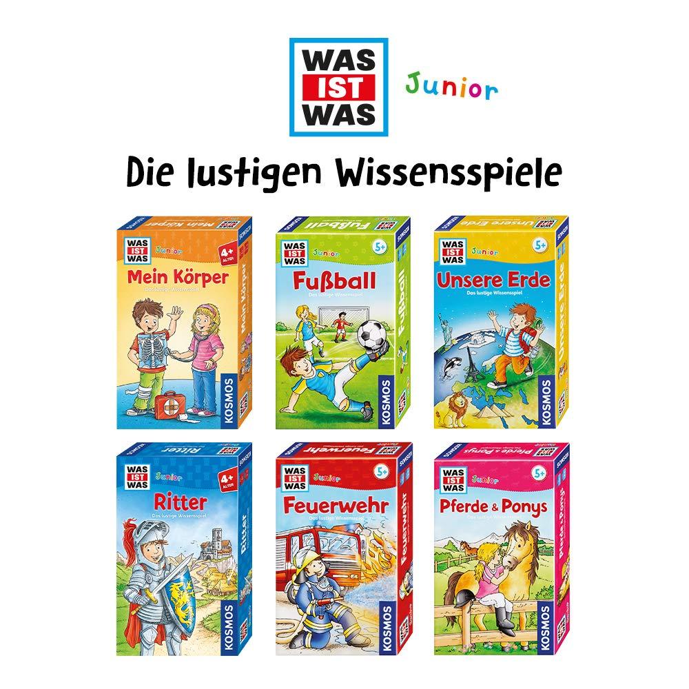 KOSMOS 711290 - Was ist Was Junior - Unsere Erde – Juego de Mesa de Preguntas y respuestas, versión Alemana: Amazon.es: Juguetes y juegos