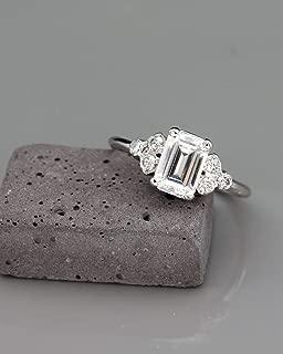 Best emerald cut morganite engagement ring Reviews