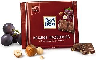 Ritter Sport Raisins & Hazelnuts Chocolate - 100 gm