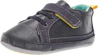 Ro + Me by Robeez Kids' Parker Sneaker Crib Shoe