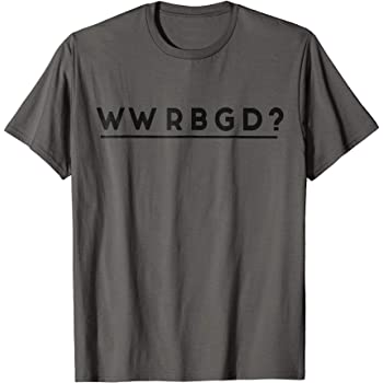 Amazon Com Wwrbgd Rbg Ruth Bader Ginsburg Retro Feminist T Shirt Clothing