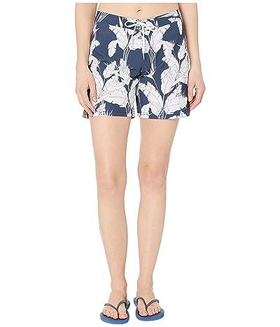 Roxy To Dye 7 Boardshorts (Mood Indigo Flying Flowers) Women