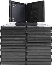 (50) Standard Black Nintendo DS Empty Replacement Game Cases Boxes VGBR14DSBK