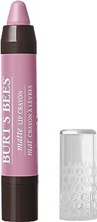 Burt's Bees  100% Natural Moisturizing Matte Lip Crayon, Carolina Coast - 1 Crayon