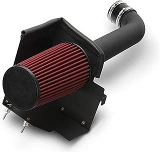 RED ROCK Redrock 4x4 Cold Air Intake Kit - Black - for Jeep Wrangler JK 2012-2018 3.6L