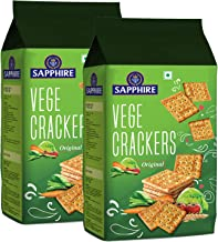 Sapphire Vege Crackers Pack of 2, x 350 g