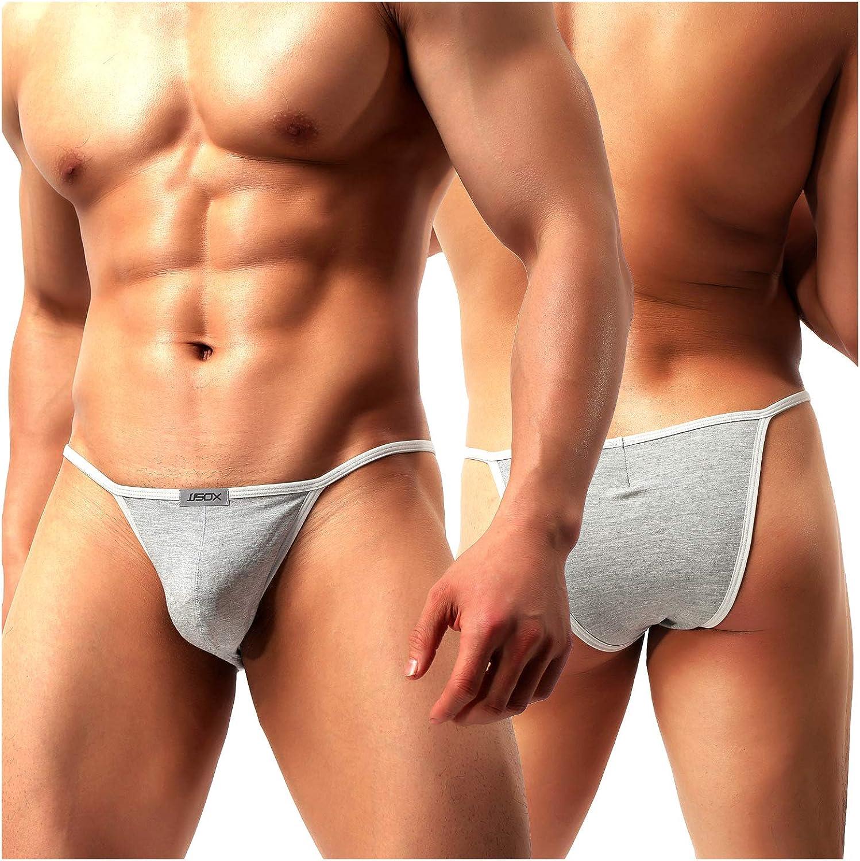 Arjen Kroos Men's Thong Swimwear Sexy G-String Briefs Underwear Swimsuit
