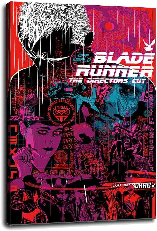 New mail order srjbklook Runner Canvas Prints 2049 Superlatite Movie For Poster Art Wall Ho