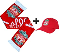 Liverpool FC Champions League Winners - Gorra y Bufanda de béisbol