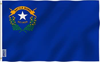 Nevada US State Desk Table Top Flag