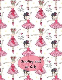 Drawing Pad for Girls: Kids Art Journal |Sketchbook for Girls |Art Pad Paper| Sketchbook Drawing Painting|Art Paper Kids|H...