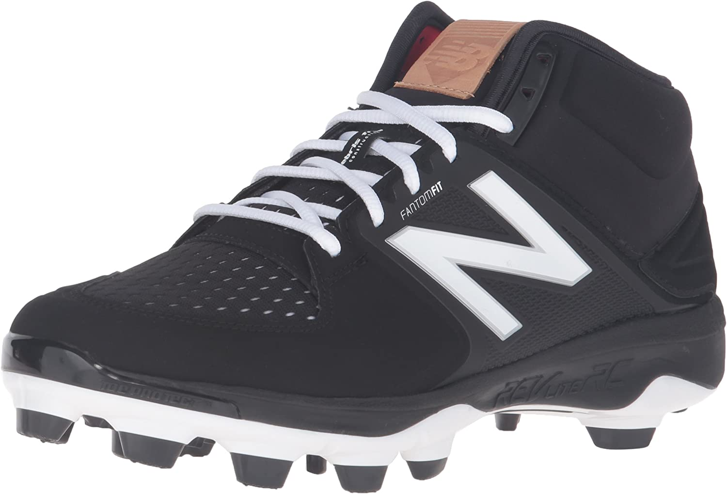New Balance Men's PM3000V3 Baseball shoes-M Black