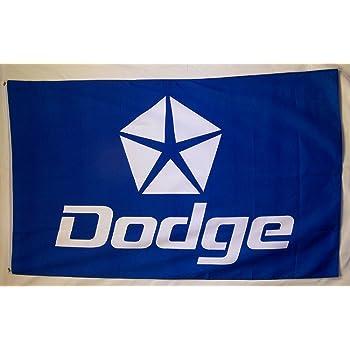Mopar Banner Flag Checkered Racing Logo Dodge Motorsports 3x5 Auto Car Parts New