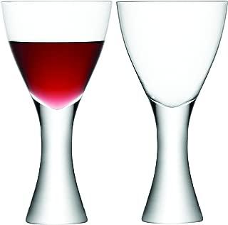 LSA International Elina Wine Goble (2 Pack), 16.8 fl. oz., Clear