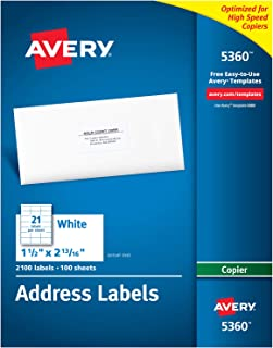 avery 5360 labels