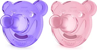 Philips AVENT Soothie Pacifier 0 - 3 Months, SCF194/02 Purple/Pink