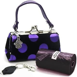 Kats'N Us Poo Bags with Purse Dispenser - Polka Dots