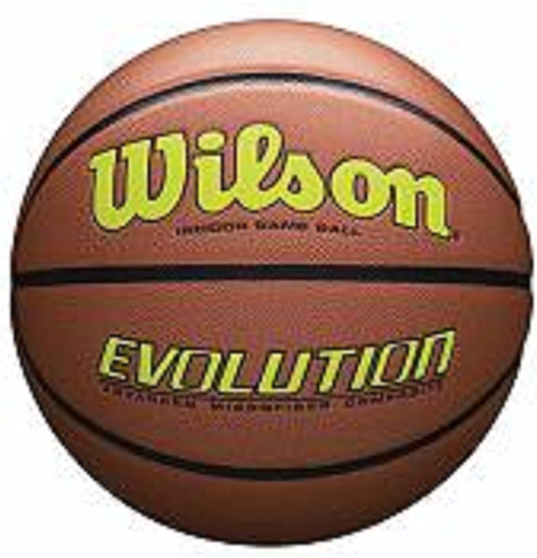 WILSON wtb0595 X X X b0703 Evolution Spiel Basketball-Gelb, braun, offizielles B078NFH361  Produktqualität f5d134