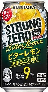 サントリー -196℃ ストロングゼロ ビターレモン 缶 350ml×24本入