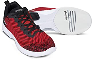 KR Strikeforce Mens Aviator Red/Black Bowling Shoes