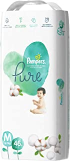 Pampers Pure Protection Tape Diapers, Medium, 46 count