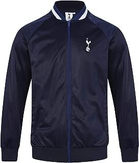 Tottenham Hotspur FC Official Soccer Gift Mens Retro Track Top Jacket Navy
