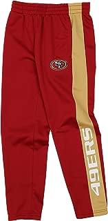 Outerstuff NFL Youth Boys (8-20) Side Stripe Slim Fit Performance Pant, Team Variation