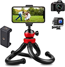 HUMBLE® Octopus Tripod Foldable Flexible Tripod gorilla tripod Stand with Universal Mobile Holder for Vlogging Streaming P...