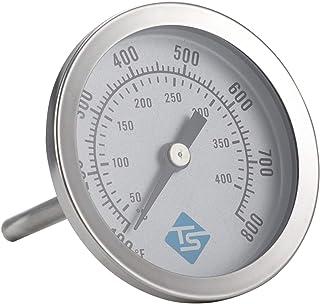 YUZI - Termometro per barbecue con coperchio a carbone, analogico, con indicatore di temperatura di precisione ℃/℉