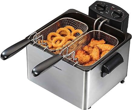 Hamilton Beach 35034 Double Basket Deep Fryer, Professional Grade