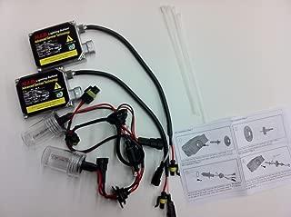 JLM HID Kit 9007 H/L 6000K with Halogen Highbeam