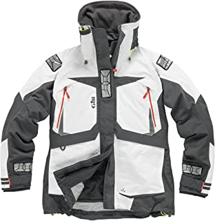 Gill Women's OS2 Coat Jacket Coat White with Thermal Insulation. Waterproof & Breathable - Thermal Warm Heat Layer Layers