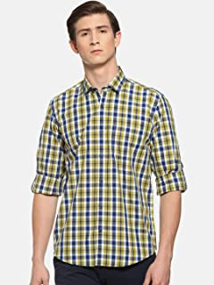RAPID FIRE Blue Casual Shirts for Men (9169)