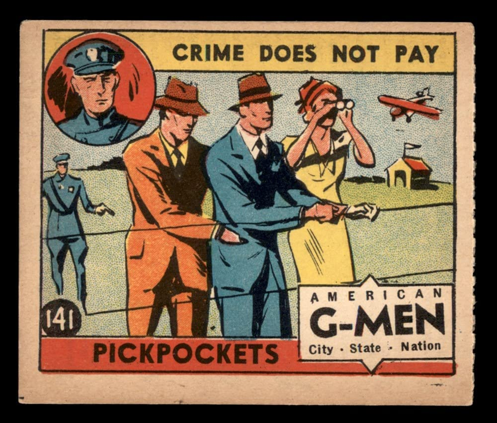 1936 Anonymous Max 73% OFF # Credence 141 VG Card EX Pickpockets